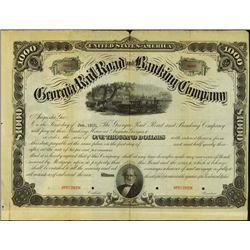 Georgia. Georgia Railroad and Banking Company.
