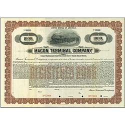 Georgia. Macon Terminal Company.