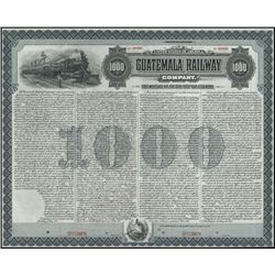 Guatemala. Guatemala Railway Company.