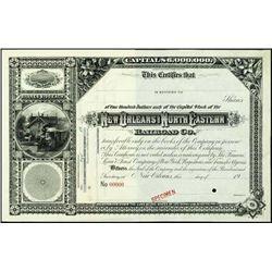 LA. Mississippi. Southern Railroad Stock Certific