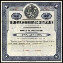 Argentina. Sociedad Argentina de Edificacion Trio