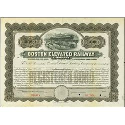 Massachusetts. Boston Elevated Railway Co.