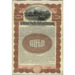 Mexico. La Dicha & Pacific Railroad Company.