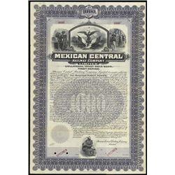 Mexico. Mexican Central Railway Co., Ltd.