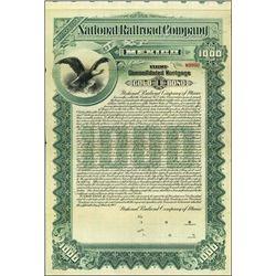Mexico. National Railroad Company.