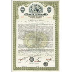 Belgium. The Kingdom  Belgium - External Loan Bon