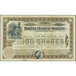 Bolivia.  Bolivia Trading Company.