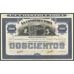 Bolivia. La Constructora Bond