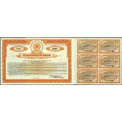 Brazil. U.S. of Brazil Collection Specimen Bonds