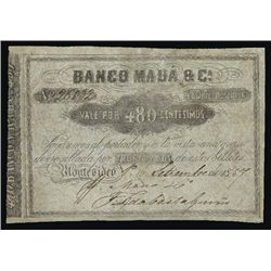 Argentina. Uruguay. Counterfeit Banknote Collecti