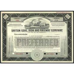 Ohio. Dayton Coal, Iron and Railway Co..