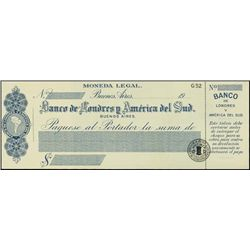 Argentina. Uruguay. Waterlow Spec. Checks (3) 3 d
