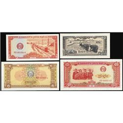 Asia.  Asian Assortment of Banknotes.