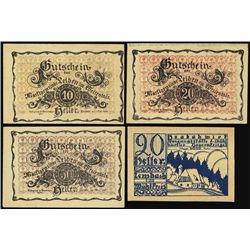 Austria. Austrian Notgeld Assortment #2.