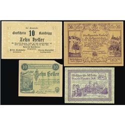 Austria. Austrian Notgeld Assortment #3.