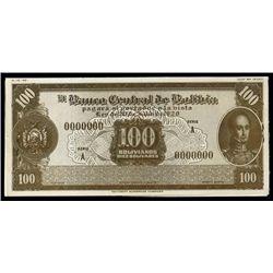 Bolivia. El Banco Central De Bolivia (5).