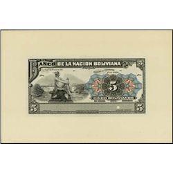 Bolivia. El Banco Central De Bolivia and Banco Po