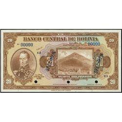 Bolivia. El Banco Central De Bolivia