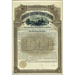 Pennsylvania. Sunsbury and Lewistown Railway Co.