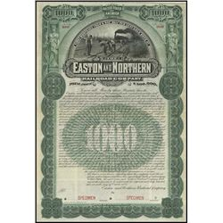 Pennsylvania. The Easton and Northern Railroad Co