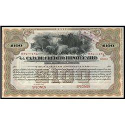 Chile. Caja de Credito Hipotecario Bond Pair