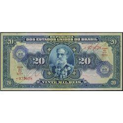 Brazil. Rep. Dos Est. Unidos Do Brasil Banknote A