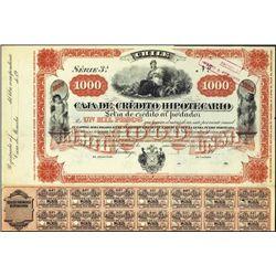 Chile. Caja de Credito Hipotecario Bond Trio