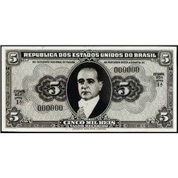 Rep. D.E.U. Do Brasil Photo Proofs Prop. 1941-43