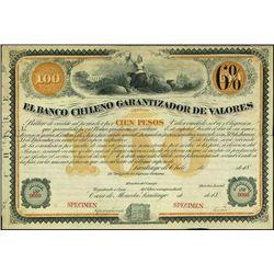 Chile. El Banco Chileno Garant.De Valores Bond Pa