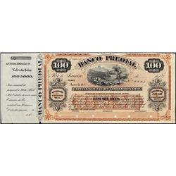 Brazil. Banco Predial Int. Bearing Circul. Bankno