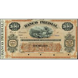 Brazil. Banco Predial Int. Bearing Circulating Ba