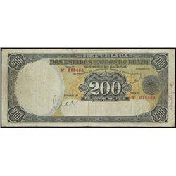 Brazil. Rep. D.E.Unidos Do Brazil Counterfeit Ban