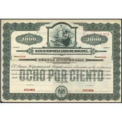 Colombia. Banco de Bogota Secc. Hipot Bond Assort