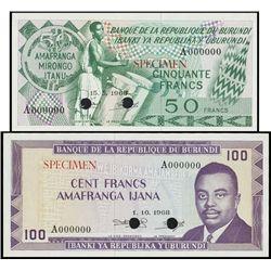 Burundi. Banque De La Republique Du Burundi (2).