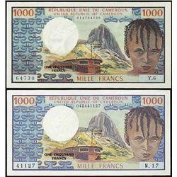 Cameroon.  Republique Unie Du Cameroun.