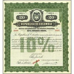 Rep. De Colombia, Bono Colombiano 10% Bond Trio