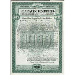 Edison United Phonograph Company