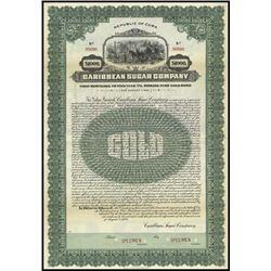 Cuba. Cuban Sugar Co. Stock & Bond Assortment.