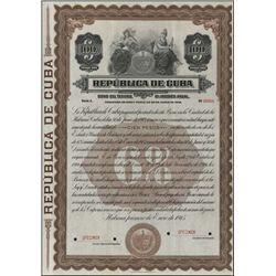 Cuba. Republica De Cuba Bond Pair