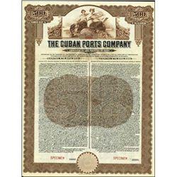Cuba. The Cuban Ports Company Bond Pair