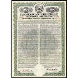Dominican Republic. Republica Dominicana Bond