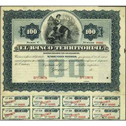 Ecuador. El Banco Territorial Bond Trio