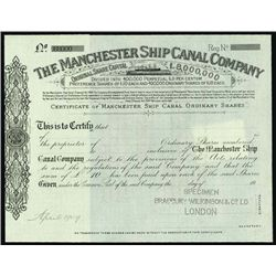 England. The Manchester Ship Canal Company