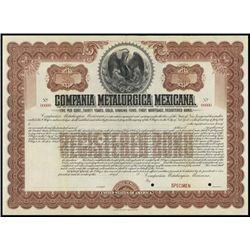 Mexico. Compania Metalurgica Mexicana Pair Specim