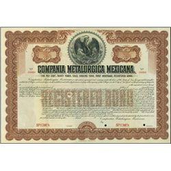 Mexico. Compania Metalurgica Mexicana  Specimen