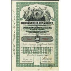 Mexico. Compania Minera De Penoles, S.A. Appr.Cer