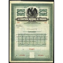 Mexico. La Compania Nacional de Predios, S.A. Spe
