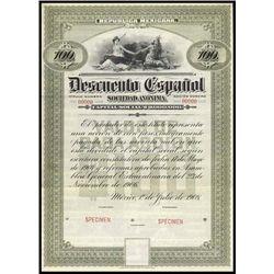 Mexico. Republica Mexicana - Descuento Espanol.