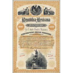 Mexico. Republica Mexicana Bond