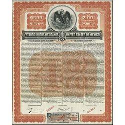 Mexico. United States of Mexico Specimen Bond